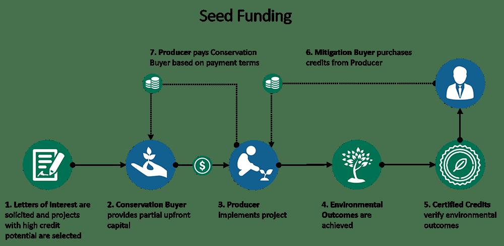 seed funding diagram